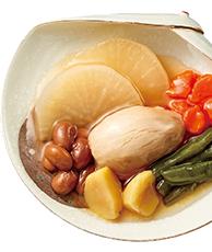 大豆と野菜の煮しめ