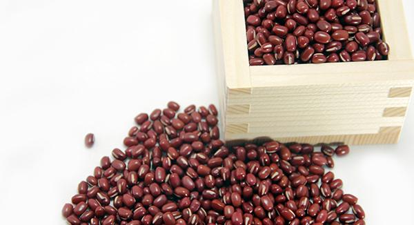 1月の食材は「小豆」