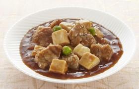 辛みを抑えたたれが食欲をそそる 牛肉と豆腐の甘辛煮 麻婆風味