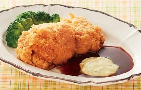 衣と鶏肉の絶妙な香ばしさ チキンカツ