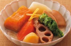 柚子風味のさっぱり仕立て 吹寄せ野菜