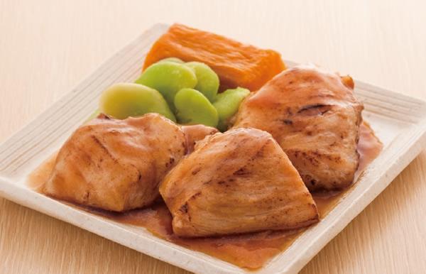 鶏肉の香り醤油焼き