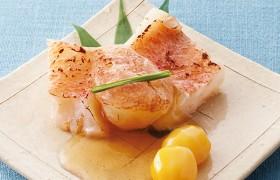 香ばしい赤魚を爽やかな銀酢で 赤魚の素焼き 銀酢仕立て