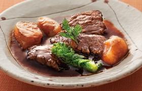 深いコクと旨みが魅力 牛肉の赤ワイン煮