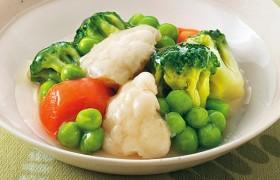 色彩豊かな野菜の風味 彩り野菜のコンソメ煮